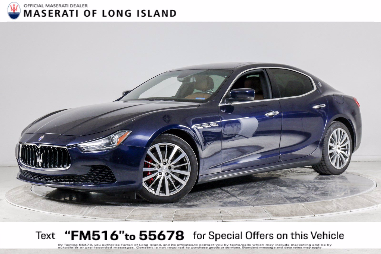 Certified Pre-Owned 2016 Maserati Ghibli S Q4