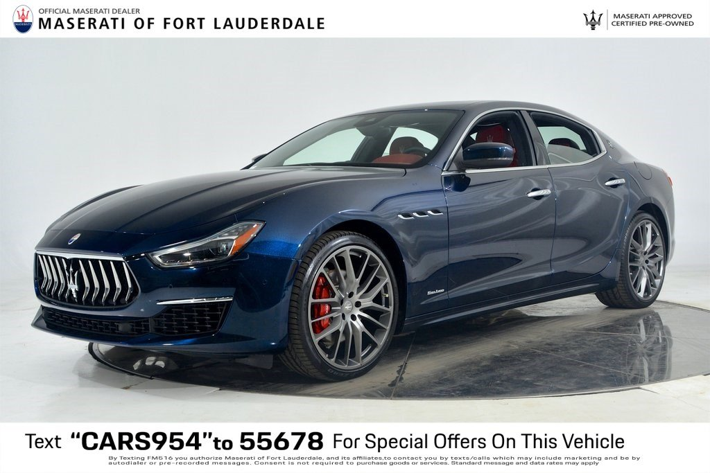 Certified Pre-Owned 2019 Maserati Ghibli GranLusso